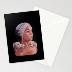 Mother Of Falcor oil on Canvas Stationery Cards