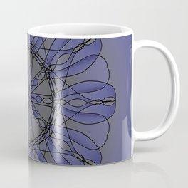 Mandala in blue Coffee Mug