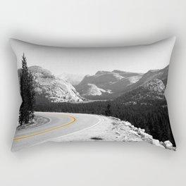 national park road Rectangular Pillow