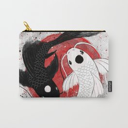 Koi fish - Yin Yang Carry-All Pouch
