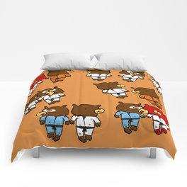 martial beartist of  judo karate ....  Comforters