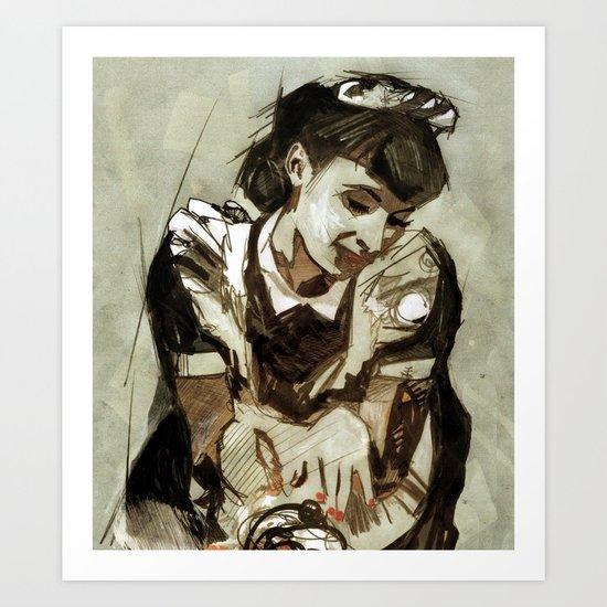 Tarjoilija Art Print