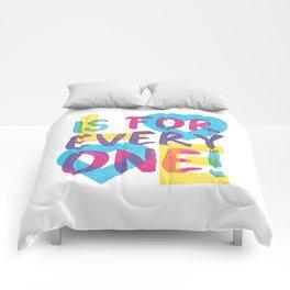 Love's Spectrum Comforters