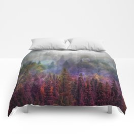 Four Seasons Forest Comforters