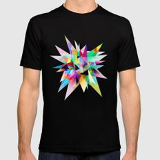 Colorful 3 LARGE Black Mens Fitted Tee