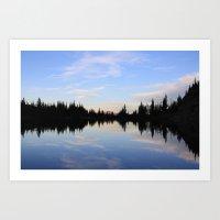Salmon Lake Art Print