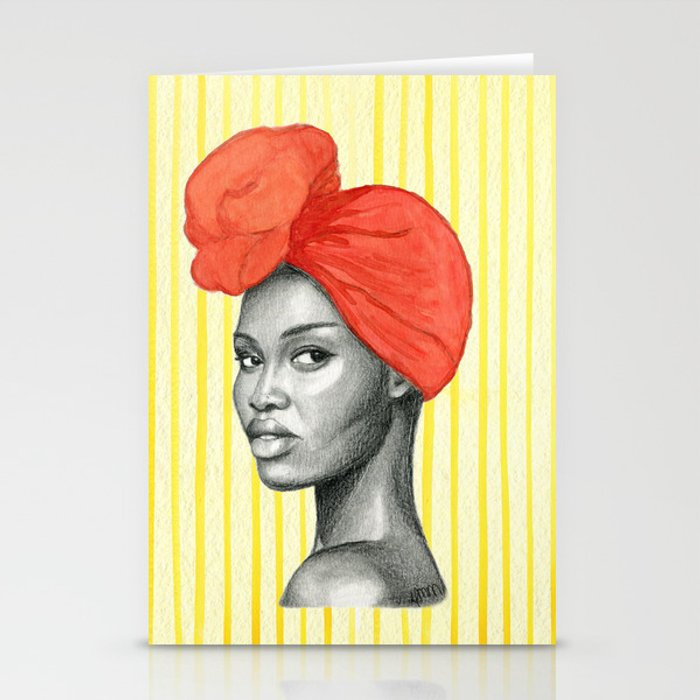 Run The World Stationery Cards