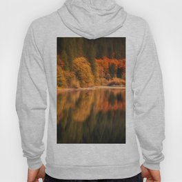 Natures Mirror reflecting Fall colors Hoody
