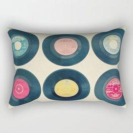 Vinyl Collection Rectangular Pillow