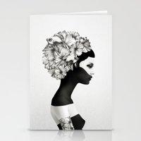 always Stationery Cards featuring Marianna by Ruben Ireland