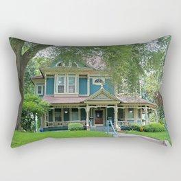 Old West End Blue 8 Rectangular Pillow