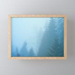 Forest Mist Framed Mini Art Print