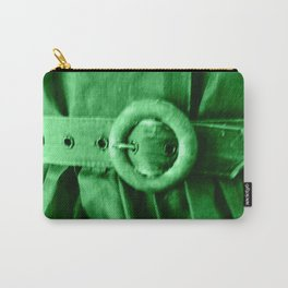 Green Vintage BELT Carry-All Pouch