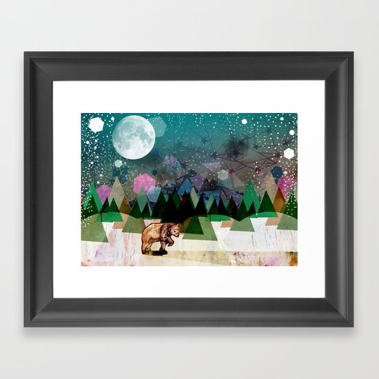 Alone Framed Art Print