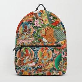 21 Taras Thangka Samantabhadra Varayogini Backpack