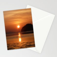 Sunset at Andaman Coast, Thailand Stationery Cards