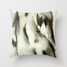 Bare Comfort Throw Pillow