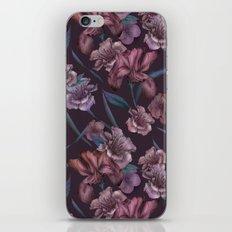 Hand-Drawn Bohemian Floral  iPhone & iPod Skin