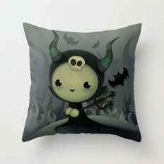 Malefica Throw Pillow