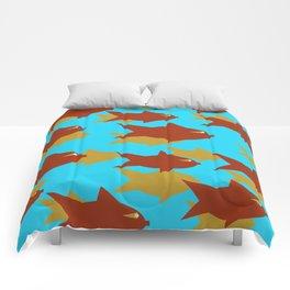 School Of Fish Comforters