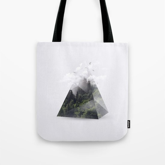 Forest triangle Tote Bag