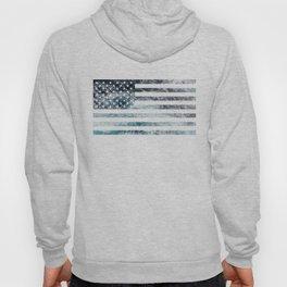 USA Ocean Flag Hoody
