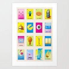 BB Loteria Cards Art Print