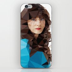 Zooey Deschanel iPhone & iPod Skin