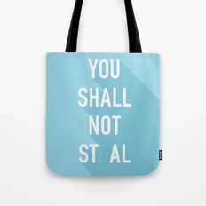 The Eighth Commandment Tote Bag