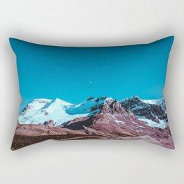 Clear Blue Bright Night Sky Rectangular Pillow