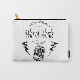 War of Words Carry-All Pouch
