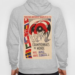 Retro cycling world championships 1935 Brussels Hoody