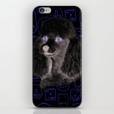 Poodle Print iPhone & iPod Skin