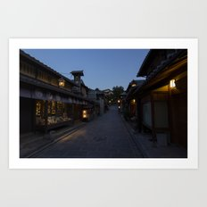 Nighttime Japan Art Print