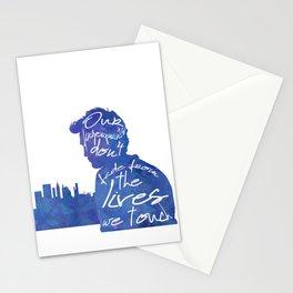 Remember me - Robert Pattinson Stationery Cards