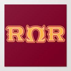 Monster University Fraternity : Roar Omega Roar Canvas Print