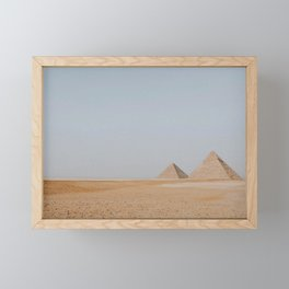 The Great Pyramid Framed Mini Art Print