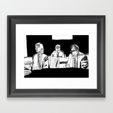 And How Should I Presume? Framed Art Print