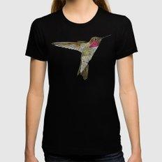 Hummingbird Ayre Womens Fitted Tee Black X-LARGE