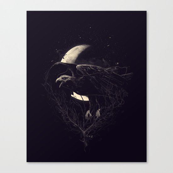 NightFlight Canvas Print