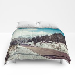 Independence Pass // Aspen, CO Comforters