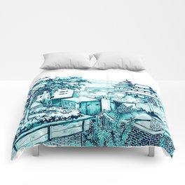 Samcheong dong  Comforters
