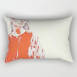 Madame Blanc Vol. 1 Rectangular Pillow