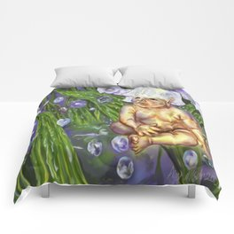 Lily in a Valley faerie baby Comforters