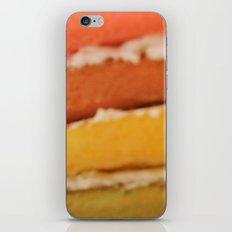 rainbow cake iPhone & iPod Skin