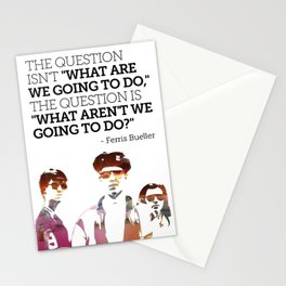 Ferris Bueller is my Hero Stationery Cards
