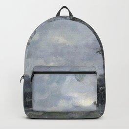 Jacob Maris - Molen bij maanlicht Backpack