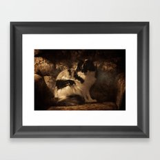 Her Magesty Framed Art Print
