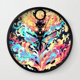 Burning Passion Wall Clock