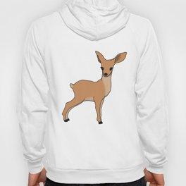 doe, a deer Hoody